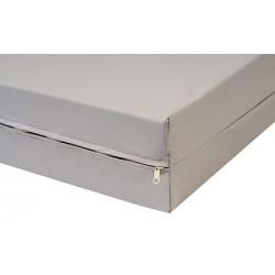 Housse de matelas polyuréthane imperméable M1 Lumière ép 15 cm 90x200 cm