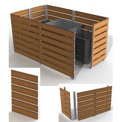 Module cache conteneur L 100 x H 135 cm
