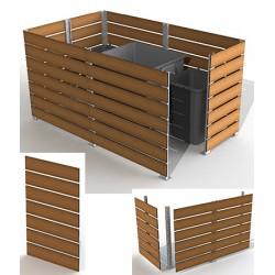 Module cache conteneur L 100 x H 157 cm