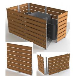 Module cache conteneur L 200 x H 157 cm
