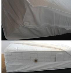 Lot de 5 rénoves matelas imperméables et respirant lavable Premium 80x190+15 cm