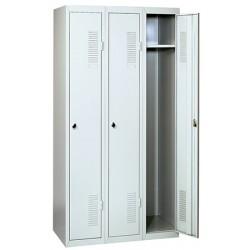 Vestiaire industrie propre à assembler 1 case départ L30 x P50 x H180 cm