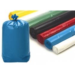 Sacs poubelle 130L noirs usage courant 19 microns (le carton de 250)