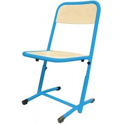 Chaise scolaire Véro appui sur table et réglable T4 à T6 stratifié