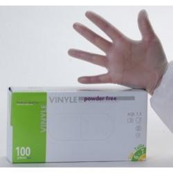 Gant d'examen vinyle non poudré AQL 1,5 qualité médicale (le carton de 1000)