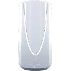 Distributeur de savon manuel à  cartouches Sanitex 1000 ml blanc