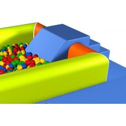 Escalier pente pour grande piscine à balle L112xP60xH41 cm