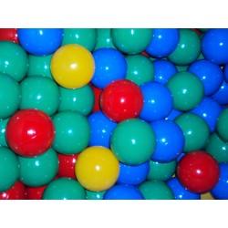 Lot de 800 balles 4 coloris