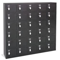 Armoires sécurisées smartphones 8 x 10 cases L147xP20xH153 cm