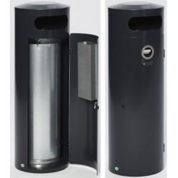 Ensemble poubelle 90L cendrier 4,5L Kona