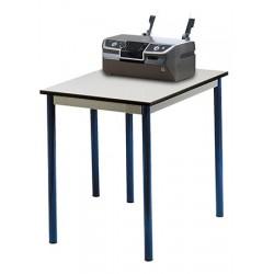 Table informatique Micro mélaminé chants PP 60x70 cm T6