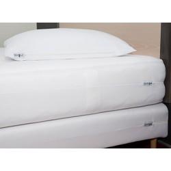 Housse anti punaises de lit matelas ou sommier 140x190/210 cm