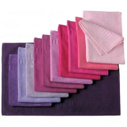 Tapis de bain 100% coton 50x70 cm 700g gamme violets