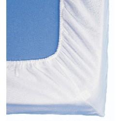Alèze molleton Benodet 100% coton 200gr forme drap housse 90x190 cm