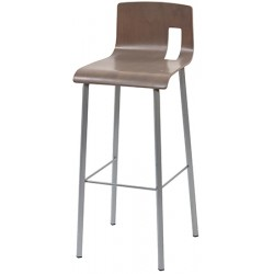 Tabouret de bar Chloé hêtre naturel