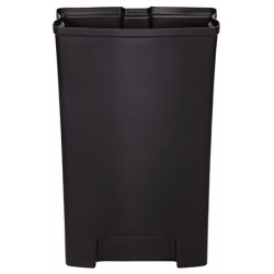 Bac Rigide simple pour Collecteur à pédale HACCP Slimjim 50 L large
