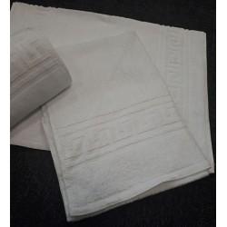 Lot de 12 tapis de bain 50x70 cm 100% coton liteau grec 550g