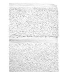 Serviette de toilette Jubba 50x100 cm coton 500g blanc
