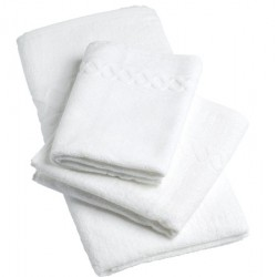 Lot de 72 serviettes 50x100cm fil retors 420g