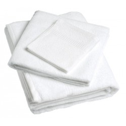 Lot de 36 serviettes 50x100cm fil simple 400g