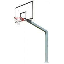 But de basket carré de 140 H cercle 3,05 m sur platine