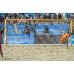 Filets de beach soccer 3 mm (la paire)