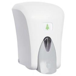 Distributeur de savon liquide ABS blanc 1 L