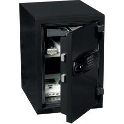 Coffre de sécurité ignifugé 90 min 40 L serrure électronique