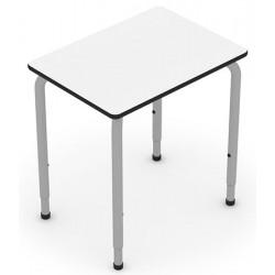 Table modulable et réglable T4 à T6 Square 68,5 x 50 cm