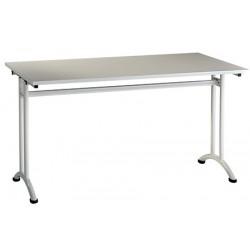 Table de restauration Manon stratifié 140x80 cm