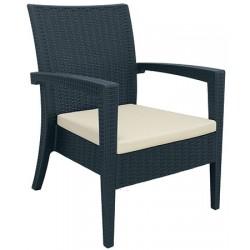 Coussin écru pour fauteuil Miami