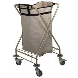 Chariot à linge 1 sac 200 L