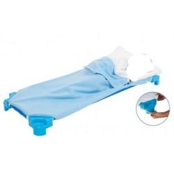 Drap sac 4 élastiques blanc pour couchette