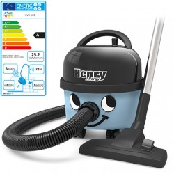 Aspirateur à poussières 9L 620W Henry Allergy Classe A