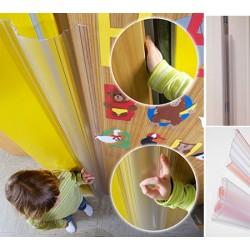 Lot de 40 sets Anti-pince-doigts 110° transparent L120 cm