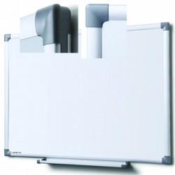 Tableau blanc émaillé magnétique Yzon 60x90 cm