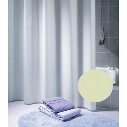 Rideau de douche Excellence 100% polyester hydrofugé sans anneaux champagne L180xH180 cm