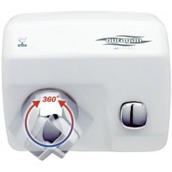 Sèche-mains JVD Ouragan manuel 2450W blanc