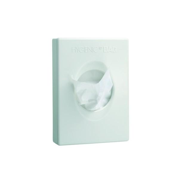 Lot de 25 supports blanc pour recharge sachets hygiéniques
