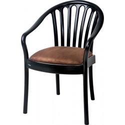 Lot de 8 fauteuils empilables intérieurs Agen