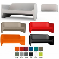 Sofa Translation 100% recyclable L167 cm