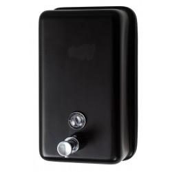 Distributeur de savon vertical 1200 ml inox noir