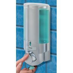 Distributeur de savon 1 réservoir 300 ml chromé et satiné