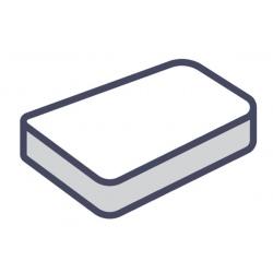 Lot de 75 alèses matelas plateau jetables blanc 90x190 cm