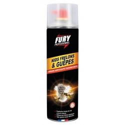 Lot de 6 aérosols mousse nids de guêpes et frelons Fury
