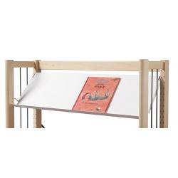 Rayonnage bibliothèque Mars 2 : tablette droite ou inclinée p 30 cm