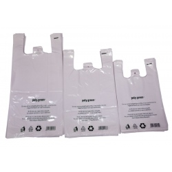 Sacs bretelles BD blanc 26+12x45 (Le carton de 500)