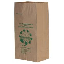 Sacs papiers déchets verts type sos avec soufflet 100L (Le paquet de 25)