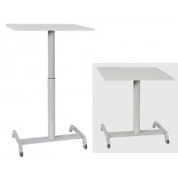 Table scolaire mobile et réglable en hauteur Maud 70 x 50 cm stratifié chants ABS