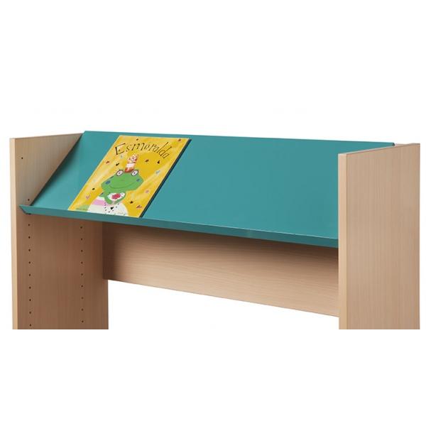 Rayonnage bibliothèque Uranus : tablette droite ou inclinée p 30 cm